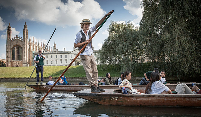 History of Punting in Cambridge