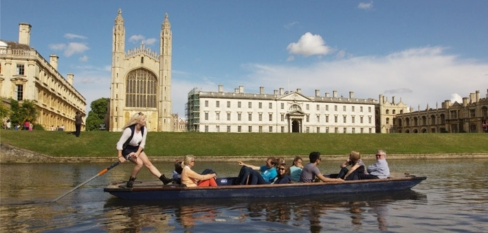 The Most Beautiful Places in England To Go Punting